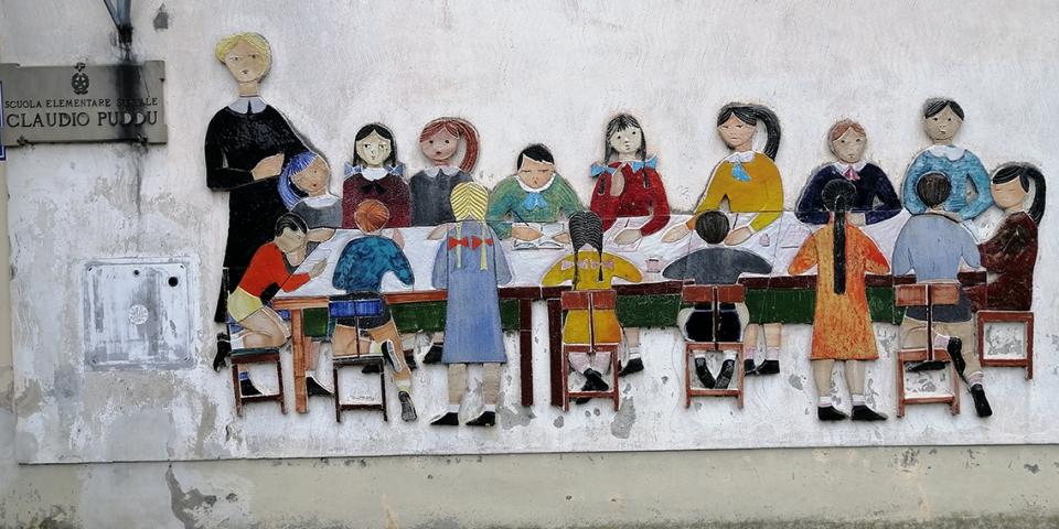 Foto Murales Scuola Puddu Maliseti