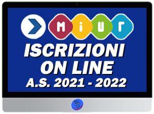 Testo iscrizioni on line con logo del ministero
